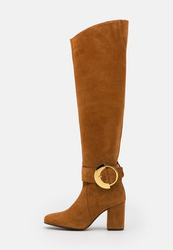 Pinko - LAETITIA BOOT - Overknees - marrone