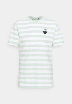 Barbour Beacon - COAST TEE - T-Shirt print - dusty mint