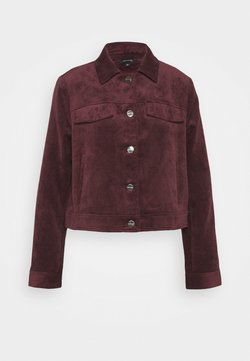 comma - Bomberjacke - plum