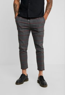 Only & Sons - ONSLINUS CHECK PANT  - Stoffhose - griffin