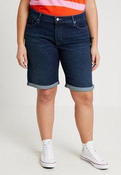 Levi's® Plus - SHAPING BERMUDA - Szorty jeansowe - dark horse