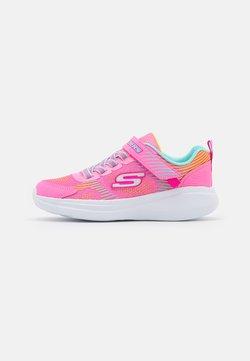 Skechers Performance - GO RUN FAST NEON JAMS UNISEX - Juoksukenkä/neutraalit - pink/multicolor