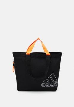 adidas Performance - TOTE - Sporttasche - black/white