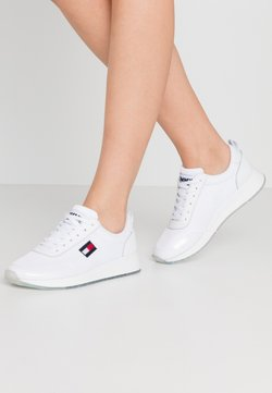 Tommy Jeans - FLEXI RUNNER - Sneakers laag - white
