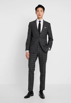 Bugatti - SUIT SLIM FIT - Anzug - anthracite