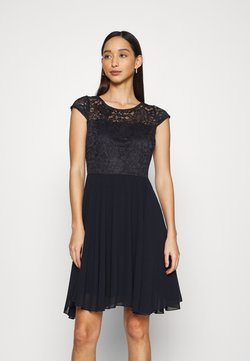 WAL G. - PEYTON SKATER DRESS - Cocktailkleid/festliches Kleid - navy