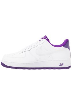 Nike Sportswear - AIR FORCE 1 '07  - Sneaker low - white/voltage purple