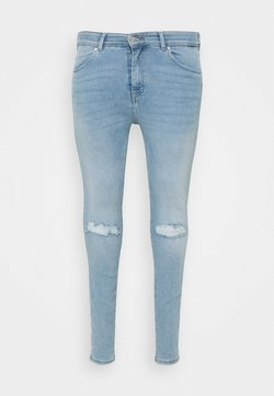 Dr.Denim Plus - LEXY - Vaqueros pitillo - icicle blue ripped