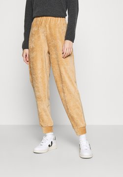 ONLY - ONLJACKIE PANT - Jogginghose - tan