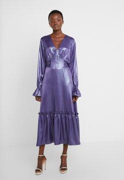 Three Floor - EXCLUSIVE DRESS - Sukienka koktajlowa - twilight purple/blue