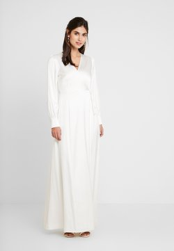 IVY & OAK BRIDAL - BRIDAL WRAP DRESS LONG - Robe de cocktail - snow white