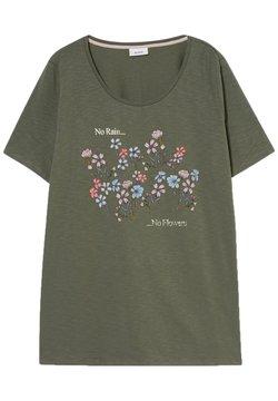 C&A - T-Shirt print - green