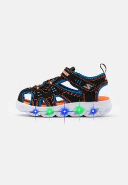 Skechers - HYPNO SPLASH - Trekkingsandale - black/blue/orange