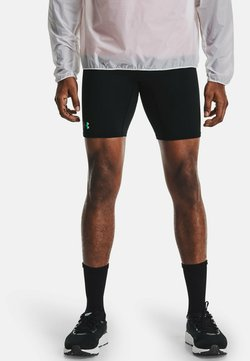 Under Armour - RUSH STAMINA  - Pantalón corto de deporte - black