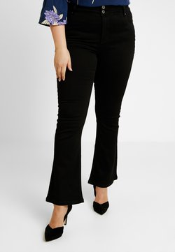 Simply Be - SHAPE - Bootcut jeans - black