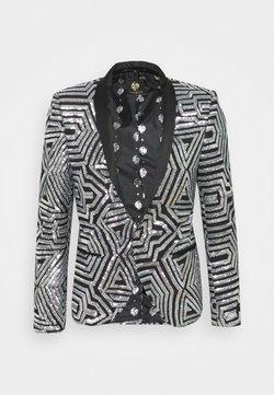 Twisted Tailor - GRIM JACKET - Veste de costume - silver