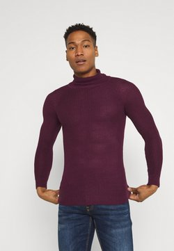 Brave Soul - GREENFORD - Strickpullover - oxblood