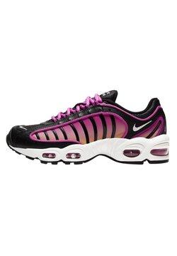 Nike Sportswear - AIR MAX TAILWIND - Sneakers laag - black/fire pink/dynamic yellow/white