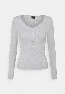 Gina Tricot - CELIE - Pitkähihainen paita - grey melange