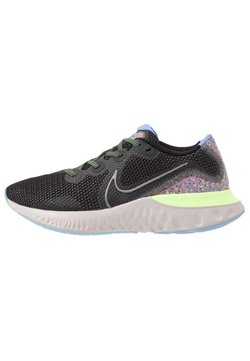 Nike Performance - RENEW RUN SE - Zapatillas de running neutras - black/metallic dark grey/plum dust/royal pulse/ghost green/platinum violet