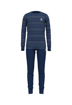 ODLO - ACTIVE WARM ECO KIDS SET UNISEX - Unterhemd/-shirt - blau