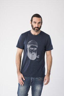 super.natural - GRAPHIC - T-Shirt print - dark blue