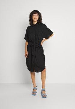 Monki - Blusenkleid - black