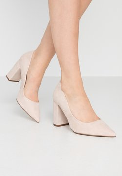 New Look Wide Fit - WIDE FIT STRIKE - High Heel Pumps - oatmeal
