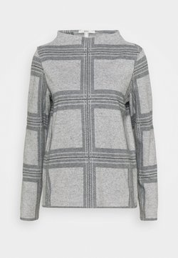 Esprit - H NECK  - Strickpullover - light grey