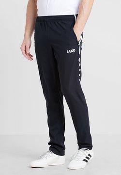 JAKO - STRIKER - Jogginghose - schwarz/weiß