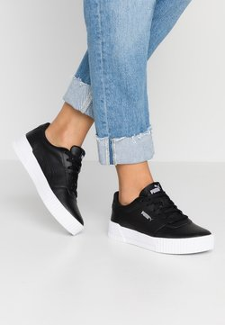 Puma - CARINA  - Baskets basses - black/white/silver