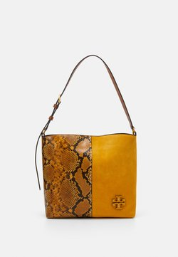 Tory Burch - EXOTIC SLOUCHY HOBO - Handtasche - daylily