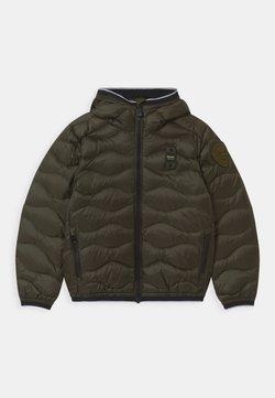 Blauer - GIUBBINI IMBOTTITO - Gewatteerde jas - dark green