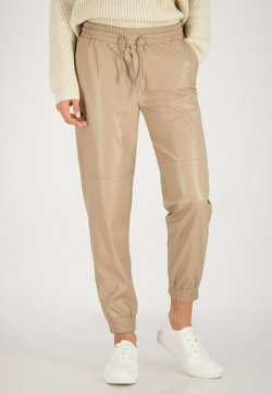 one more story - Jogginghose - oyster beige