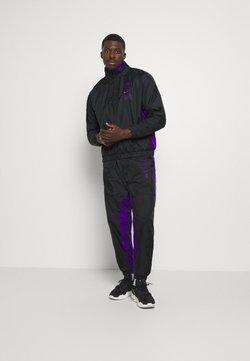 Nike Performance - NBA LA LAKERS TRACKSUIT - Fanartikel - black/field purple