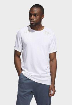 adidas Performance - HEAT.RDY PRIME T-SHIRT - Camiseta estampada - white