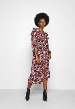 ONLY - ONLLAVIN 7/8  CALF DRESS - Vestido largo - black