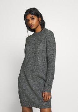 Zign Petite - Gebreide jurk - dark grey melange