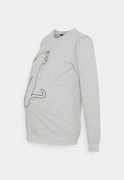 Supermom - LEOPARD GREY - Sweater - grey melange