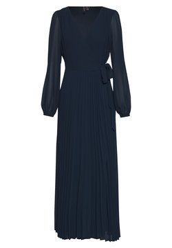 Vero Moda - VMLAUREN WRAP DRESS - Cocktailkleid/festliches Kleid - navy blazer