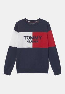 Tommy Hilfiger - COLORBLOCK ARCHIVE - Jersey de punto - twilight navy