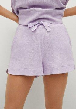 Mango - BOTON - Shorts - licht/pastelpaars