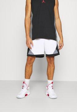 Jordan - DRY AIR DIAMOND SHORT - kurze Sporthose - white/black/smoke grey