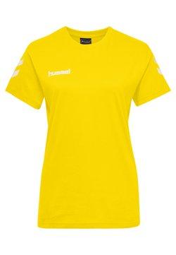 Hummel - GO WOMAN - T-shirt print - yellow