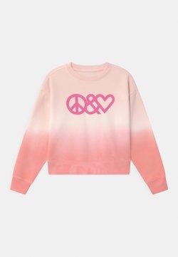 GAP - GIRL TIE DYE CREW - Collegepaita - pink