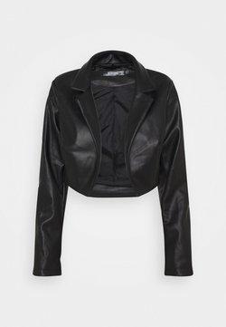 Missguided - BOXY JACKET - Blazer - black