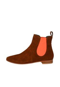 Crickit - CHELSEA BOOT TILDA CHELSEA BOOT - Stiefelette - cognac neon orange