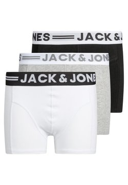 Jack & Jones Junior - BOXERSHORTS BOYS 3 PACK  - Shorty - light grey melange