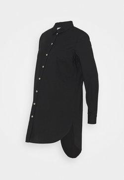 Pieces Maternity - PCMNOMA LONG SHIRT - Camisa - black