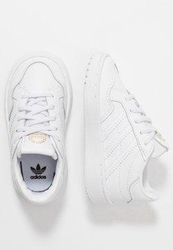adidas Originals - TEAM COURT - Instappers - footwear white/core black